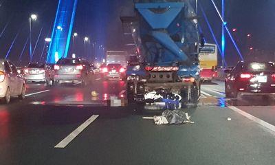 Va chạm xe bồn, người đàn ông tử vong trên cầu Nhật Tân