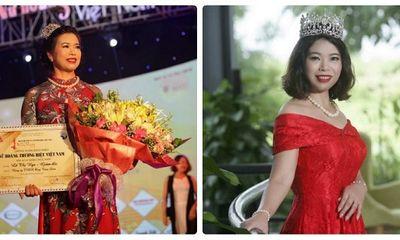 Lê Thị Nga – Tổng giám đốc của công ty Ong Tam Đảo được vinh danh Nữ hoàng thương hiệu ngành thực phẩm 2018