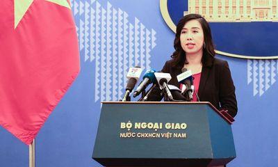 Bộ Ngoại giao lên tiếng việc doanh nghiệp tại Bình Dương treo cờ Đài Loan