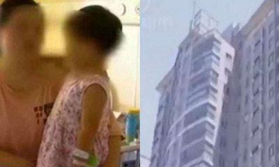 Em bé 2 tuổi ngã từ tầng 17 xuống đất, thoát chết kỳ diệu