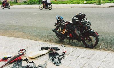 Làm rõ vụ việc nam thanh niên đánh người, phá xe máy rồi vứt bên vỉa hè