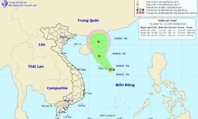 Dự báo thời tiết ngày 9/8: Áp thấp nhiệt đới đang hình thành trên biển Đông