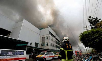 Cháy lớn tại bệnh viện Đài Loan, ít nhất 9 người thiệt mạng