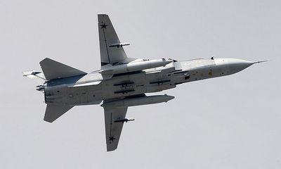 Nga bác tin 6 máy bay Su-24 bị tiêm kích Anh rượt đuổi trên Biển Đen