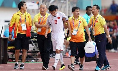 Đỗ Hùng Dũng nghỉ thi đấu 1 tháng, ở lại cổ vũ Olympic Việt Nam tại vòng 1/8 ASIAD