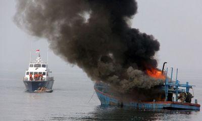 Indonesia tiêu hủy 125 tàu cá xâm phạm lãnh hải trái phép