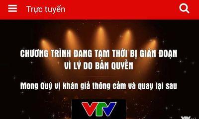 Bất ngờ với lý do VTV bị cắt sóng giữa chừng trận đấu Olympic Việt Nam – Olympic Bahrain