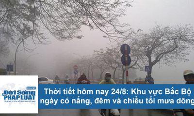 Dự báo thời tiết hôm nay 24/8: Hà Nội nắng nóng 34 độ C, chiều tối mưa dông