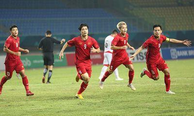 Lần đầu vào tứ kết ASIAD, Olympic Việt Nam được VOV thưởng nóng 500 triệu đồng