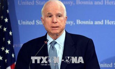 Đại sứ Việt Nam tại Mỹ : Thượng nghị sĩ John McCain đi tiên phong thúc đẩy quan hệ hai nước