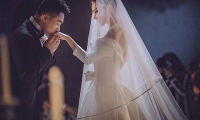 Trương Hinh Dư hé lộ ảnh cưới đẹp như phim ngôn tình với chồng quân nhân
