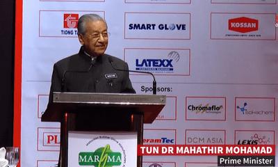 Thủ tướng Mahathir: Nhân loại không bùng nổ dân số nhờ cao su của Malaysia