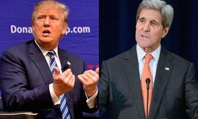 Ông Trump mời cựu Ngoại trưởng John Kerry tranh cử Tổng thống Mỹ năm 2020