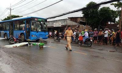 Tông trực diện vào xe buýt, hai nam phụ hồ thương vong
