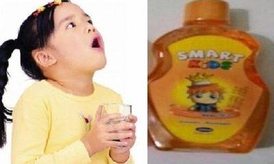 Thu hồi nước súc miệng Smart Kids