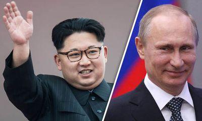Tổng thống Putin bất ngờ gửi thư tay tới nhà lãnh đạo Kim Jong-un
