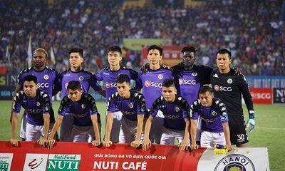 Đánh bại SLNA, Hà Nội FC vô địch sớm nhất lịch sử V.League