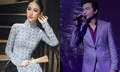 Mạnh Quỳnh hòa giọng cùng người đẹp xứ Huế Hà Thu trong minishow bolero
