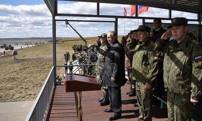 Tổng thống Putin thị sát cuộc tập trận lớn nhất lịch sử hiện đại của nước Nga
