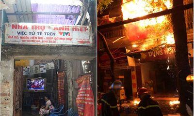 Vụ cháy ở Đê La Thành: Khu nhà trọ tình nghĩa 15.000 đồng/đêm chỉ còn là tro bụi