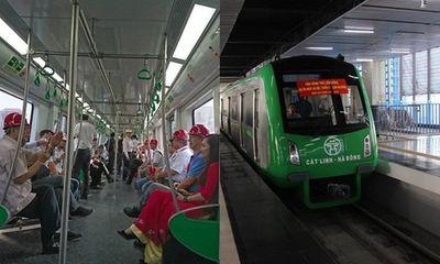 Lý do đồng loạt chạy thử 5 đoàn tàu Cát Linh - Hà Đông