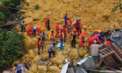 Lở đất kinh hoàng tại Philippines: 22 người thiệt mạng, hàng chục người mất tích