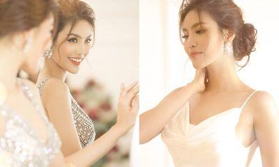 Lan Khuê xinh đẹp hút hồn trong 3 mẫu váy cưới lộng lẫy