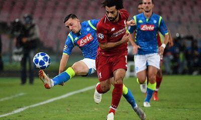 Mohamed Salah gây thất vọng, Liverpool bại trước Napoli