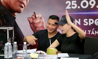 Ngô Thanh Vân hợp tác cùng võ sư Cung Lê trong phim điện ảnh quốc tế