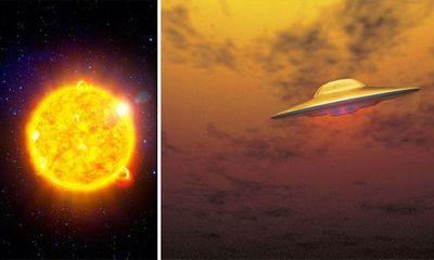 Phát hiện UFO bay ngang qua Mặt Trời mà không bị đốt cháy?