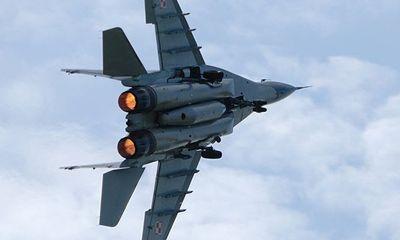 MiG-29 của Nga rơi trong khi hạ cánh khẩn cấp gần Moscow
