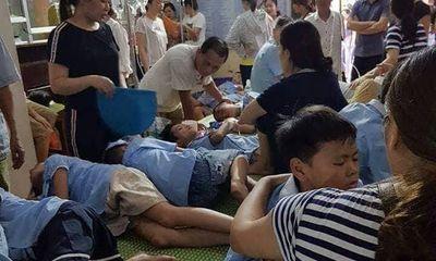 Thông tin mới nhất về 280 học sinh ngộ độc ở Ninh Bình