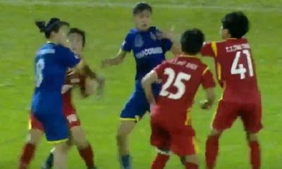 Tiền vệ Lê Hồng Minh: Cầu thủ nữ ẩu đả trên sân nên được thông cảm
