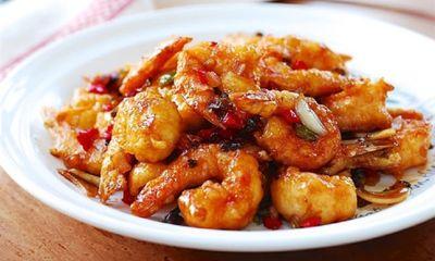Món ngon mỗi ngày: Tôm rim cay kích thích vị giác cho bữa trưa