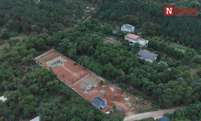 Cưỡng chế 18 công trình sai phạm tại Sóc Sơn: