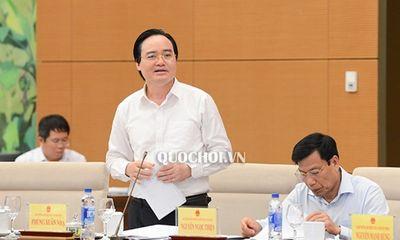 Hai bộ trưởng nhận số phiếu tín nhiệm thấp lên đến 3 chữ số