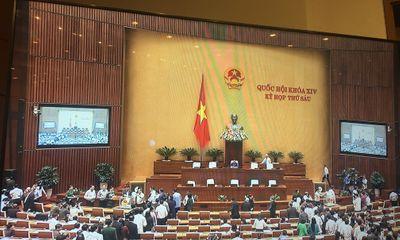 Quốc hội đã bỏ phiếu kín để lấy phiếu tín nhiệm với 48 chức danh