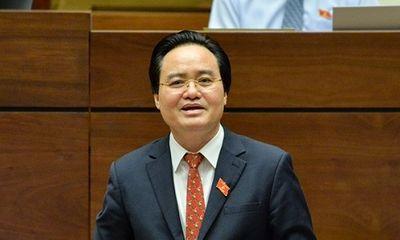 """Bộ trưởng Phùng Xuân Nhạ giải trình trước Quốc hội sau 1 ngày """"đội sổ"""" về lấy phiếu tín nhiệm"""