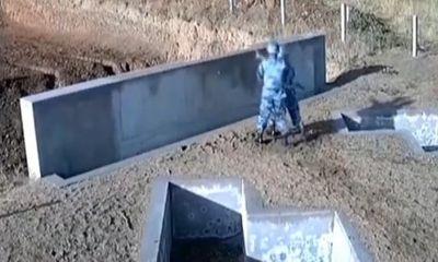 Video: Ném lựu đạn sai cách, nam học viên may mắn thoát chết trong gang tấc