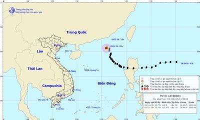 Tin tức mới nhất áp thấp nhiệt đới suy yếu từ bão số 7