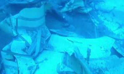 Video: Tìm thấy các mảnh vỡ của xác máy bay Lion Air nằm la liệt dưới đáy biển Java