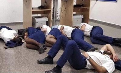 Chụp ảnh ngủ trên sàn nhà, 6 tiếp viên hàng không Ireland bị sa thải