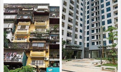 Đối lập tập thể cũ – chung cư mới: Xem ảnh vội tích cóp đổi nhà