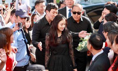 Kim Tae Hee khoe nhan sắc rạng ngời trong vòng tay fan Việt