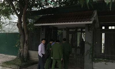 Công an khám nhà 2 cựu lãnh đạo BIDV chi nhánh Hà Tĩnh