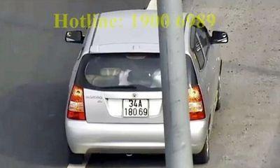 Vụ ô tô đi lùi trên cao tốc Hà Nội - Hải Phòng: Đã xác định được danh tính chủ xe