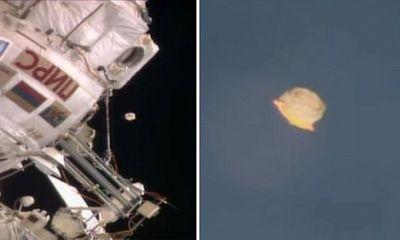 Bằng chứng người ngoài hành tinh: Phi hành gia NASA phát hiện UFO khổng lồ?