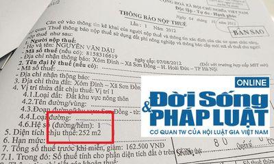 """UBND xã Sơn Đồng, Hoài Đức bị """"tố""""gây nhũng nhiễu dân"""