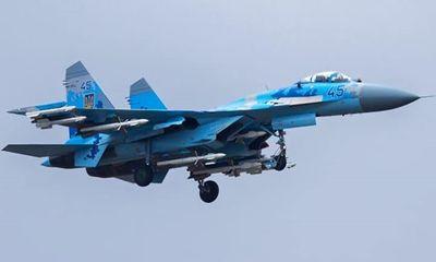 Tiêm kích Su-27 của Ukraine rơi, phi công thiệt mạng
