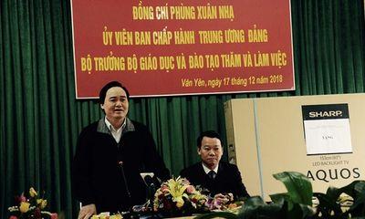 Bộ trưởng GD-ĐT lên tiếng vụ hiệu trưởng bị tố lạm dụng ở Phú Thọ: Phải đi từ gốc, giải quyết căn bản vấn đề